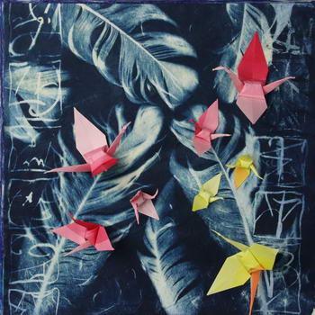 Kraanvogel roze