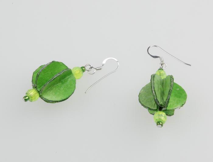 Oorbel Groen